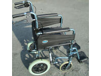 Wheelchair -- Patterson Medical 'Days Escape Lite' aluminium frame