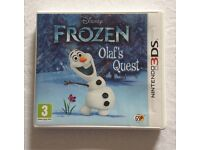 Olaf's Quest Frozen 3DS game