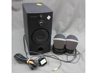 Harman/Kardon 3-Piece System Subwoofer + Speakers Model HK395