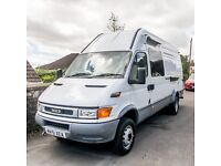 Excellent IVECO Camper Conversion Ready to go!