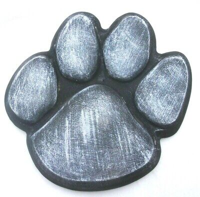Dog paw print stepping stone mold 12