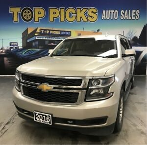 2016 Chevrolet Suburban 8 Passenger, One Owner, Accident Free!