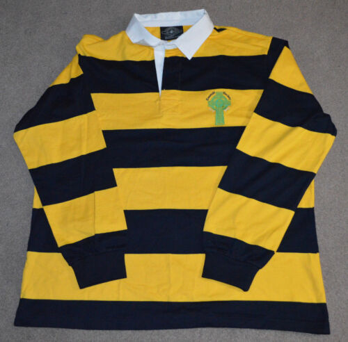 NYPD Emerald Society Rugby L/S Shirt Irish NYC Police Deptartment XL