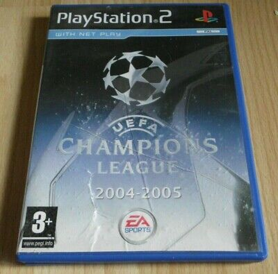 UEFA Champions League 2004 - 2005 ...Playstation 2 Game, used for sale  Shipping to Nigeria