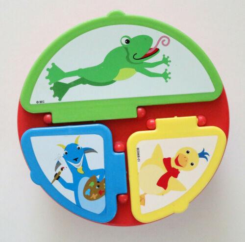 """Used Playtex Baby Einstein Food Snack Holder Plate 6"""""""