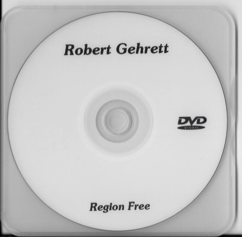 ROBERT GEHRETT 101ST AIRBORNE 502 PIR,D-DAY,MARKET GARDEN,VET RARE INTERVIEW DVD