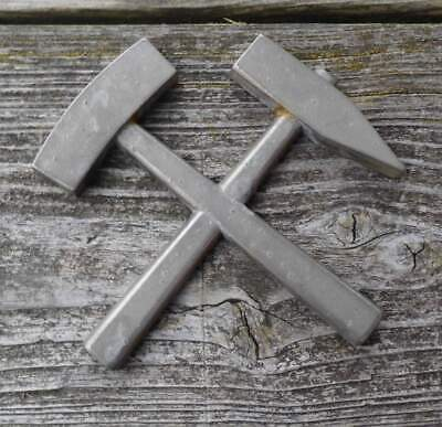 Knappschaft, Bergbau Symbol Schlägel und Eisen aus AluGuss von E. Holtzmann