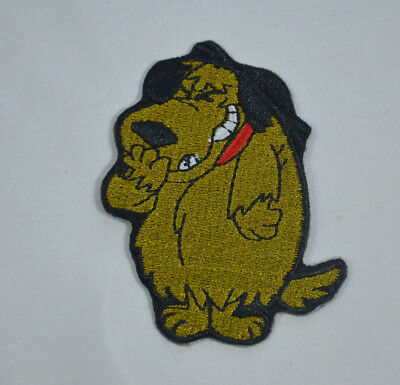 Muttley Wacky Races Cartoon Dog Mutley Iron Sew On Cloth Patch Badge Applique