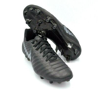 c0358e3f611 Nike Jr Tiempo Legend 7 Elite FG Soccer Cleats Blackout  AH7258-001  Size 4Y