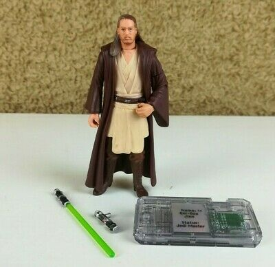 "Star Wars - The Phantom Menace QUI-GON JINN 4"" Figure HASBRO 1999"