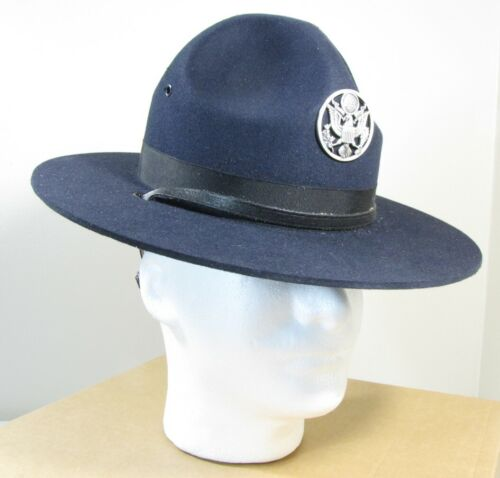 New NOS USAF Air Force Drill Instructor DI TI Blue Campaign Smokey Hat SJ