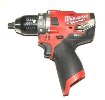 Milwaukee 2504-20 M12 12v Fuel Brushless 12 Hammer Drill Tool-only Used