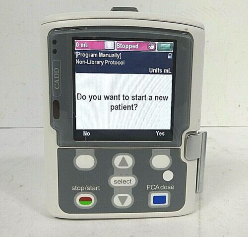 Smiths Medical Cadd Solis 2110 Ambulatory Infusion System - Free Shipping