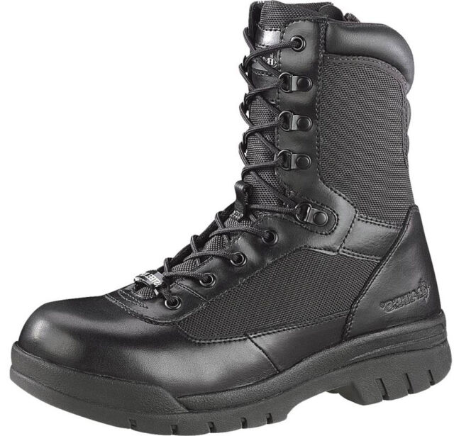 Bates Men's Steel Toe Insulated Side Zip BOOTS Black E02320 10 ...