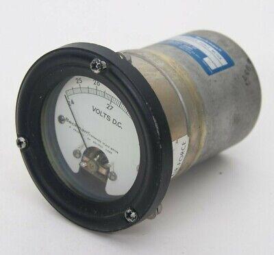 Vintage Beckman Dc Volts Expanded Scale Meter Gauge 24-30 Model 027-3104-0