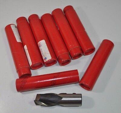 Lot Of 7 Regal Beloit Milling Cutter End Mill Rh 2 Flute 1-14 Dia 1-14 Shk