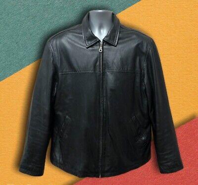 Vintage 90's Soft Leather Jacket - Size XLarge - Fast P&P