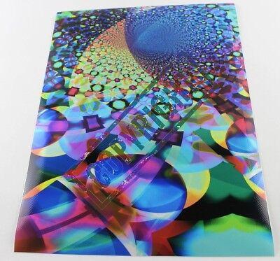 Fensterfolie **Blaue Edelsteine** B:40 H:30 cm  Maler *Paintcast* Aschaffenburg
