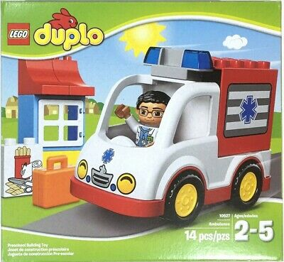 Lego Duplo 10527 Ambulance Set Tuck Sealed Brand New Toddler Ages 2-5  14 Pieces