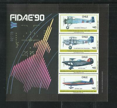 CHILE. Año: 1990. Tema: FUERZAS AEREAS CHILENAS., usado comprar usado  Enviando para Brazil