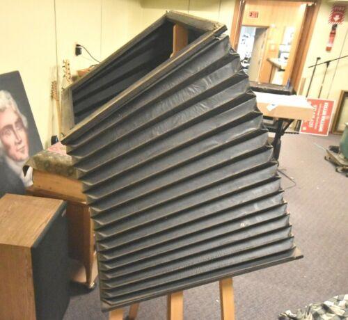Giant Bellows Huge Ultra Large Format ULF Camera Builder Ronar Artar Nikkor Lens