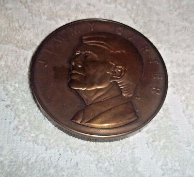 1977  Jimmy Carter Inauguration Bronze Medallion