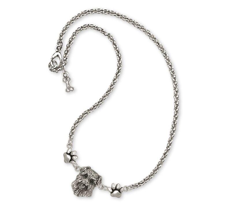 Norfolk Terrier Ankle Bracelet Jewelry Sterling Silver Norfolk Terrier Charms An