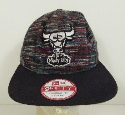 Windy City Hat (Chicago Bulls NBA Basketball Windy City Hat Cap )