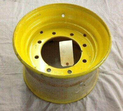 New Holland Backhoe Tractor Loader Steel Wheel Rim Yellow 10.5x17.5 85801206
