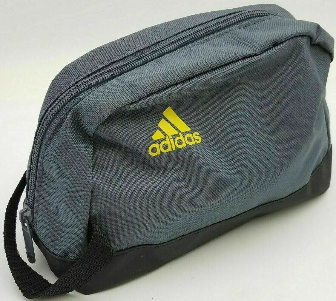 ADIDAS Travel Zipper Bag Toiletry, Cosmetics, Makeup, Shavin