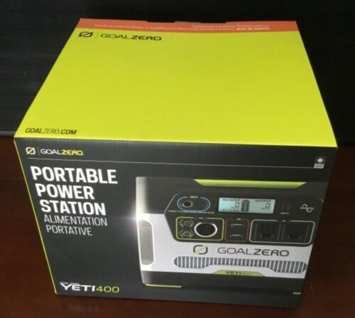 Goal Zero Yeti 400 Solar Portable Power Station