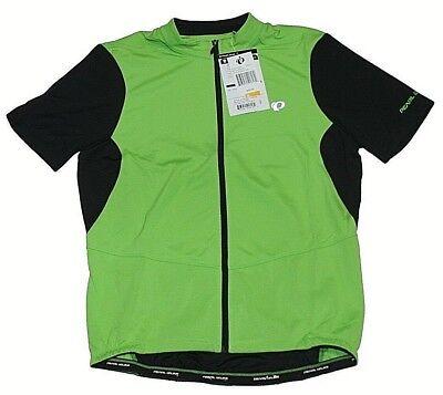 b2197581c2a Pearl Izumi Attack Full Zip Bike Cycling Jersey Green Flash Sz Med NWT  75