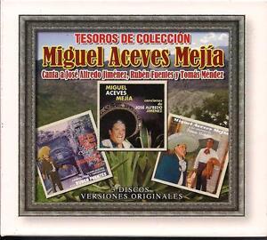 Miguel Aceves Mejia Tesoros De Coleccion CD NEW 3 Disc Boxed Set 43 Songs!