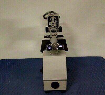 Zeiss Im 35 Inverted Binocular Microscope With Light Source 46 80 19 9901
