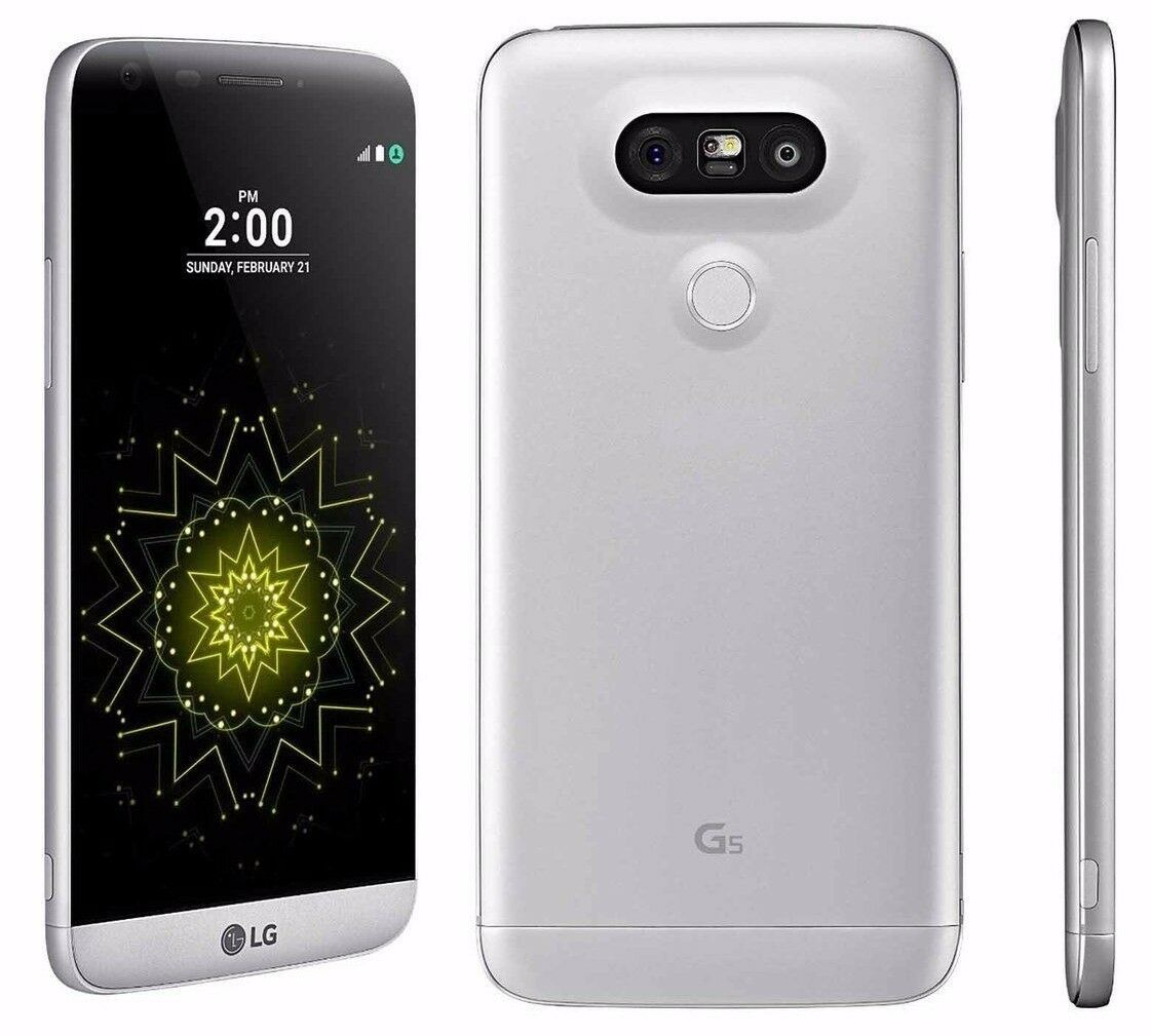 Android Phone - LG G5 VS987 - 32GB (Verizon) Silver / Titan Android - Great Phone, HOLIDAY SALE!