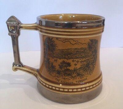 Dartmouth Pottery Britannia Designs Tankard Mug The Harbour At Torquay