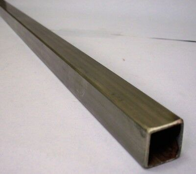 1 Stainless Square Tube X 116 Wall X 33 Long