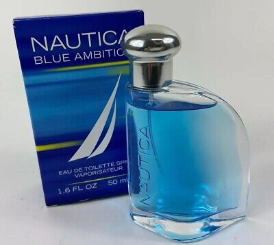Nautica Blue Ambition 1.6 oz Cologne Toilette Spray (New, never used)