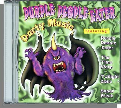 Halloween Party Music Thriller (Purple People Eater Party Music CD Time Warp Twilight Zone X-Files Thriller)