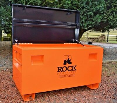 steel JUMBO XL Job Site Tool Security Vault by Rock Machinery