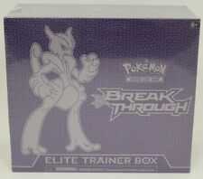 Pokemon TCG XY BreakThrough Mega-X Mewtwo Elite Trainer Box NEW