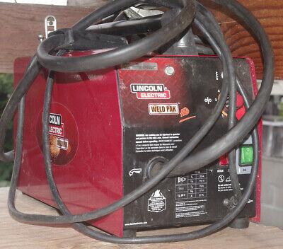 Lincoln Electric Weld Pak Hd Wire-feed Welder 10949