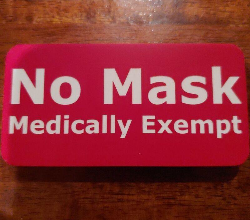 Mask Exemption Badge