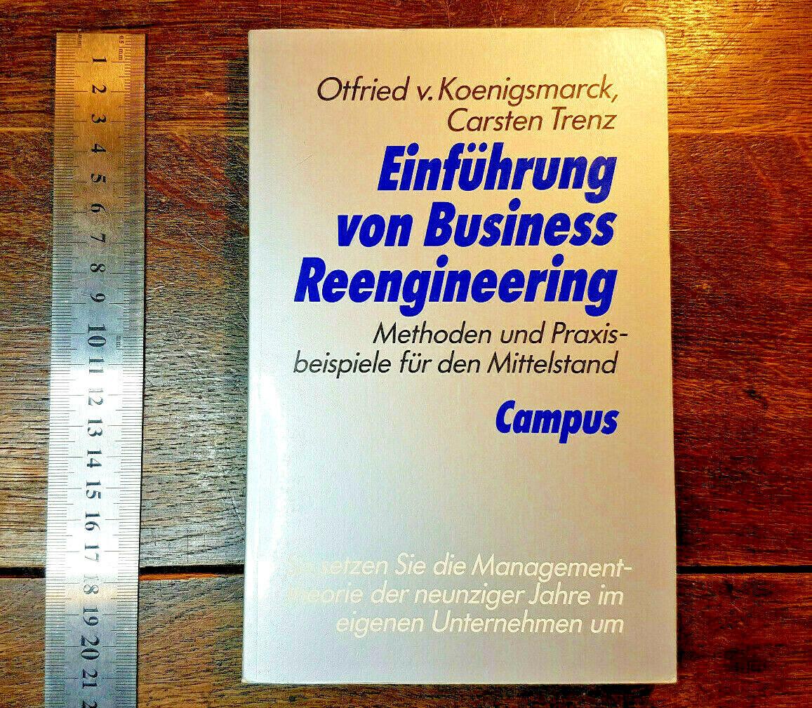 Einführung Business Reengineering, Methoden Praxisbeispiele Mittelstand, Trenz