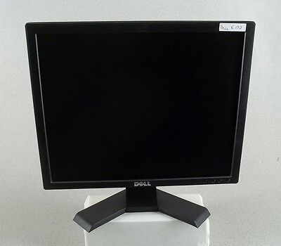 "DELL E177FP 17"" FLAT PANEL LCD COMPUTER MONITOR VGA W CABLES FREE SHIPPING!"