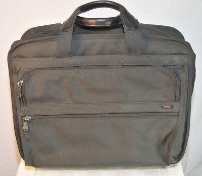Tumi Alpha Ballistic 2-wheeled Laptop Computer Carry-on Briefcase 26002D4