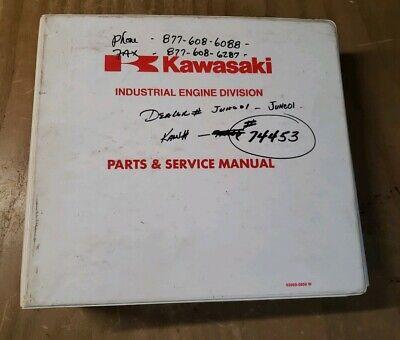 KAWASAKI  SMALL ENGINE PARTS & SERVICE MANUAL BOOK 1 #1J-2349-Y21