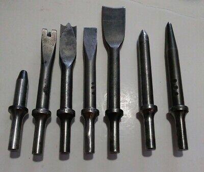 7 Rivet Set Pneumatic Rivets Rivet Cutter And Chisels Aircraft Tools