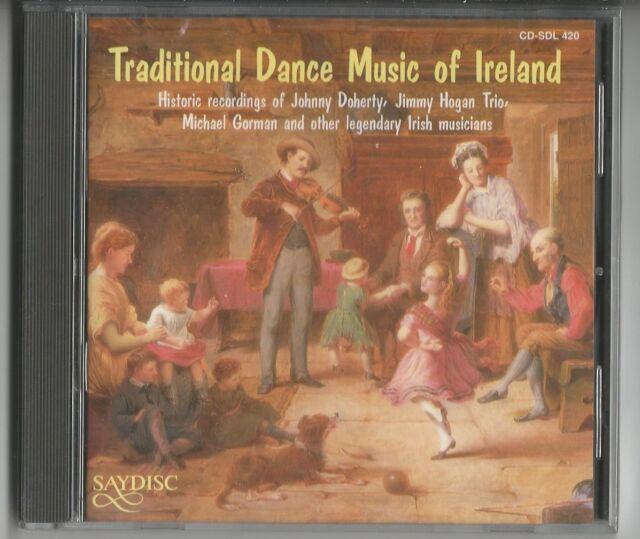 TRADITIONAL DANCE MUSIC OF IRELAND - CD Saydisc/UK - NEU & OVP
