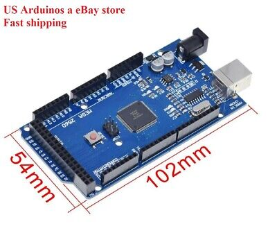 Arduino Mega 2560 R3 Compatible Board Ch340g Without Usb Cable Diy 5 Volt 16 Mhz